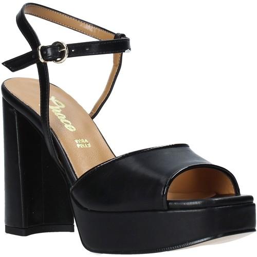 Παπούτσια Γυναίκα Σανδάλια / Πέδιλα Grace Shoes 174002 Μαύρος