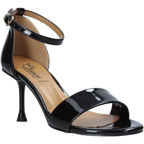 Παπούτσια Γυναίκα Σανδάλια / Πέδιλα Grace Shoes 492G001 Μαύρος