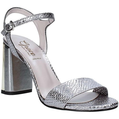 Παπούτσια Γυναίκα Σανδάλια / Πέδιλα Grace Shoes 2384L007 Γκρί