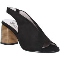 Παπούτσια Γυναίκα Σανδάλια / Πέδιλα Grace Shoes 492S001 Μαύρος