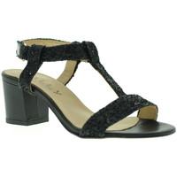 Παπούτσια Γυναίκα Σανδάλια / Πέδιλα Mally 3895 Μαύρος