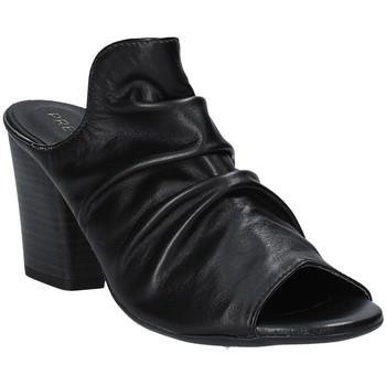 Παπούτσια Γυναίκα Τσόκαρα Pregunta PF3286 Μαύρος