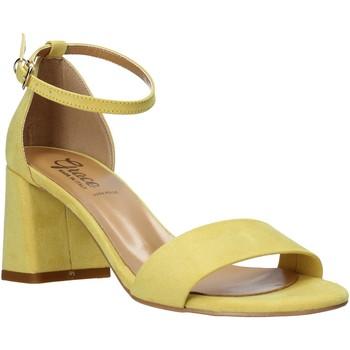 Παπούτσια Γυναίκα Σανδάλια / Πέδιλα Grace Shoes 380008 Κίτρινος
