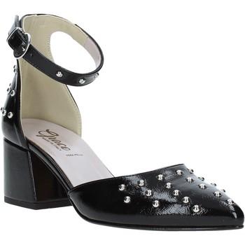 Παπούτσια Γυναίκα Σανδάλια / Πέδιλα Grace Shoes 774007 Μαύρος