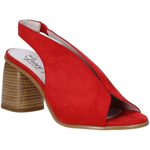 Παπούτσια Γυναίκα Σανδάλια / Πέδιλα Grace Shoes 492S001 το κόκκινο
