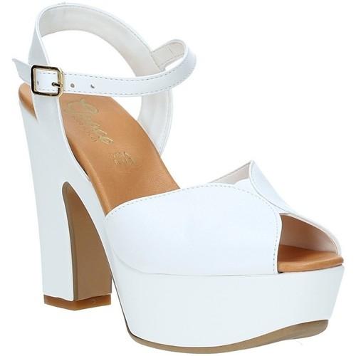 Παπούτσια Γυναίκα Σανδάλια / Πέδιλα Grace Shoes FLY λευκό