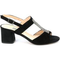 Παπούτσια Γυναίκα Σανδάλια / Πέδιλα Grunland SA2516 Μαύρος