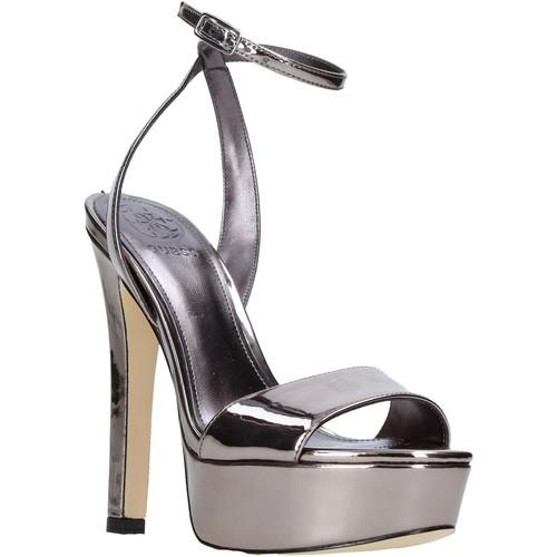 Παπούτσια Γυναίκα Σανδάλια / Πέδιλα Guess FLEMP2 ELE03 Ασήμι