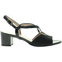 Παπούτσια Γυναίκα Σανδάλια / Πέδιλα Grace Shoes E8127 Μαύρος