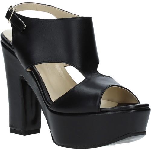 Παπούτσια Γυναίκα Σανδάλια / Πέδιλα Grace Shoes TQ 102 Μαύρος