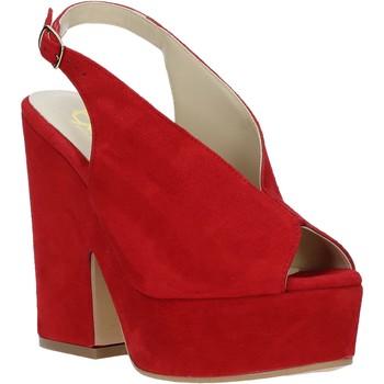 Παπούτσια Γυναίκα Σανδάλια / Πέδιλα Grace Shoes ALBA 107 το κόκκινο