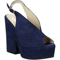 Παπούτσια Γυναίκα Σανδάλια / Πέδιλα Grace Shoes ALBA 107 Μπλε
