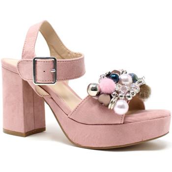 Παπούτσια Γυναίκα Σανδάλια / Πέδιλα Onyx S19-SOX467 Ροζ