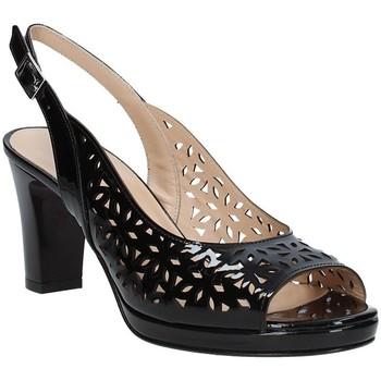 Παπούτσια Γυναίκα Σανδάλια / Πέδιλα Soffice Sogno E9390 Μαύρος