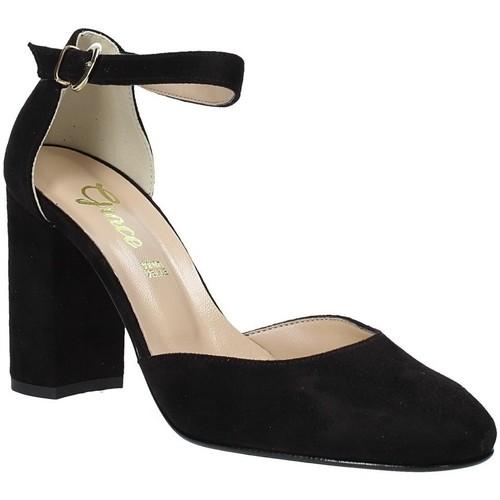 Παπούτσια Γυναίκα Σανδάλια / Πέδιλα Grace Shoes 949002 Μαύρος