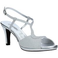 Παπούτσια Γυναίκα Σανδάλια / Πέδιλα Louis Michel 5016 Ασήμι