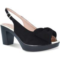 Παπούτσια Γυναίκα Σανδάλια / Πέδιλα Pitillos 2901 Μαύρος