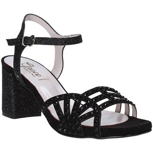 Παπούτσια Γυναίκα Σανδάλια / Πέδιλα Grace Shoes 116V004 Μαύρος