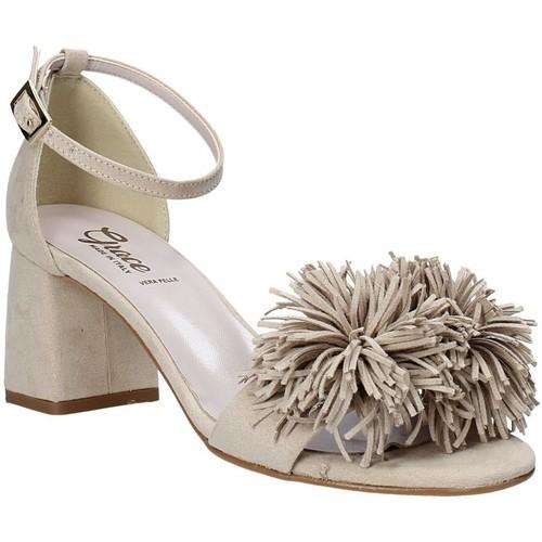 Παπούτσια Γυναίκα Σανδάλια / Πέδιλα Grace Shoes 380020 Μπεζ