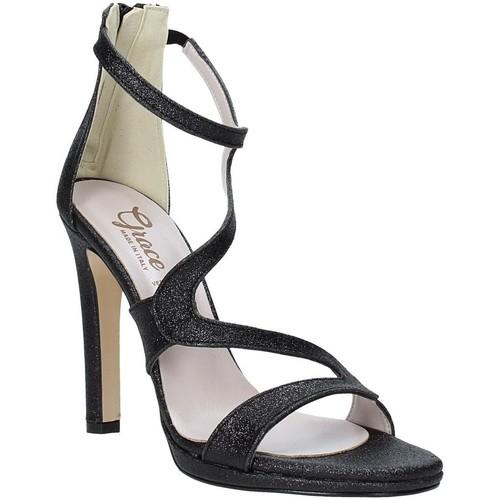 Παπούτσια Γυναίκα Σανδάλια / Πέδιλα Grace Shoes 2383007 Μαύρος