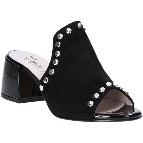 Παπούτσια Γυναίκα Τσόκαρα Grace Shoes 1576006 Μαύρος