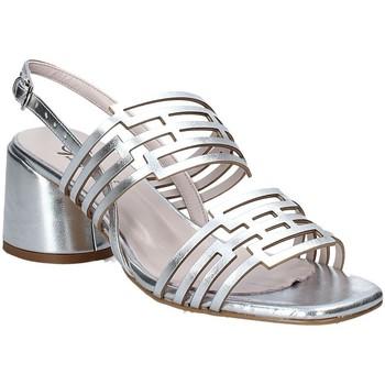 Παπούτσια Γυναίκα Σανδάλια / Πέδιλα Grace Shoes 123001 Ασήμι