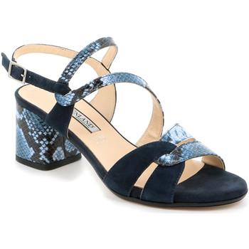 Παπούτσια Γυναίκα Σανδάλια / Πέδιλα Grunland SA2515 Μπλε