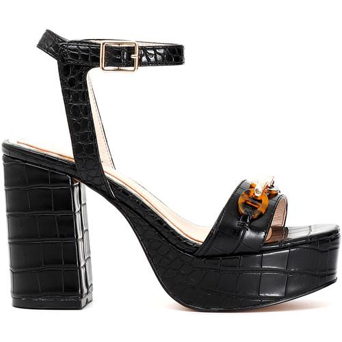 Παπούτσια Γυναίκα Σανδάλια / Πέδιλα Café Noir MA924 Μαύρος