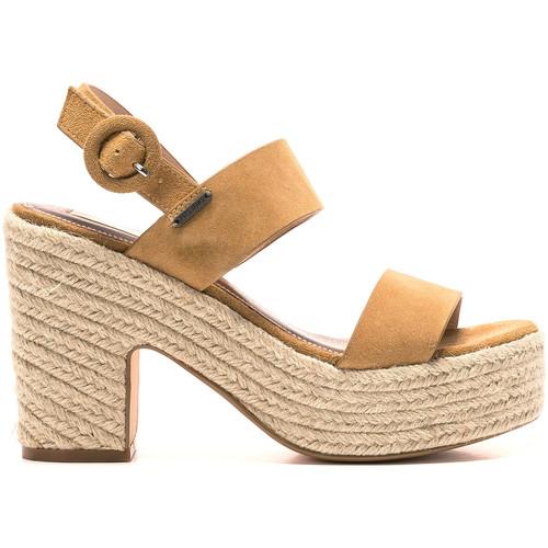 Παπούτσια Γυναίκα Σανδάλια / Πέδιλα Pepe jeans PLS90462 καφέ
