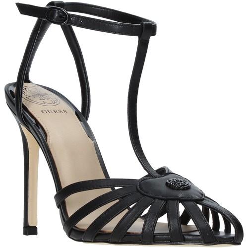 Παπούτσια Γυναίκα Σανδάλια / Πέδιλα Guess FL6CIA LEA08 Μαύρος
