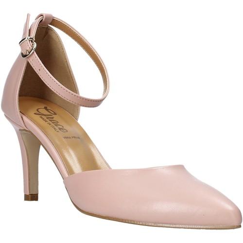 Παπούτσια Γυναίκα Σανδάλια / Πέδιλα Grace Shoes 057S006 Ροζ