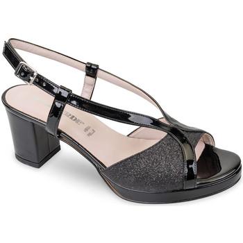 Παπούτσια Γυναίκα Σανδάλια / Πέδιλα Valleverde 45373 Μαύρος