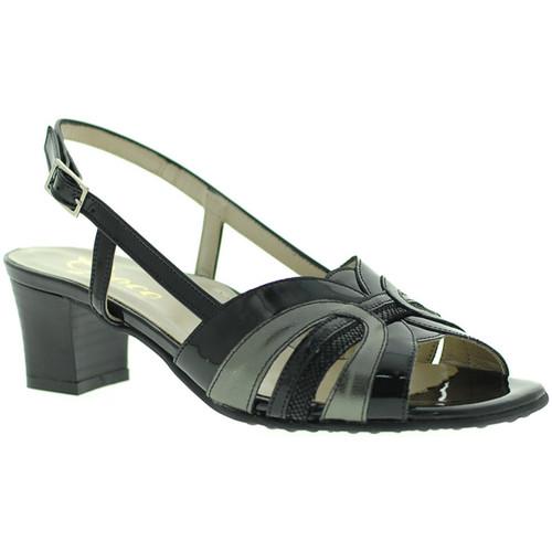 Παπούτσια Γυναίκα Σανδάλια / Πέδιλα Grace Shoes E5080T Μαύρος