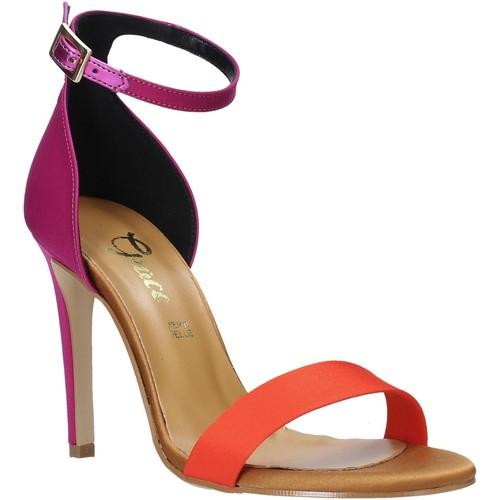 Παπούτσια Γυναίκα Σανδάλια / Πέδιλα Grace Shoes 018Y037 Πορτοκάλι