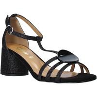 Παπούτσια Γυναίκα Σανδάλια / Πέδιλα Grace Shoes 123011 Μαύρος