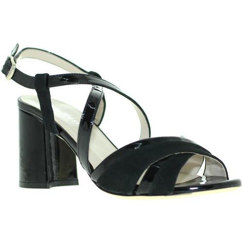 Παπούτσια Γυναίκα Σανδάλια / Πέδιλα Melluso S529 Μαύρος