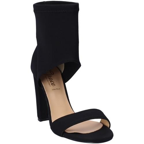 Παπούτσια Γυναίκα Σανδάλια / Πέδιλα Grace Shoes 1571 Μαύρος