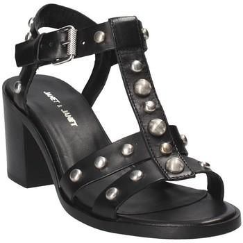 Παπούτσια Γυναίκα Σανδάλια / Πέδιλα Janet&Janet 41409 Μαύρος