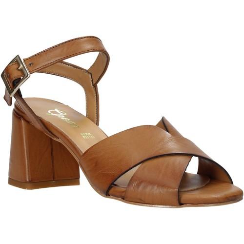Παπούτσια Γυναίκα Σανδάλια / Πέδιλα Grace Shoes 380045 καφέ