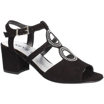 Παπούτσια Γυναίκα Σανδάλια / Πέδιλα Keys 5713 Μαύρος