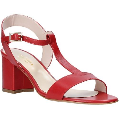 Παπούτσια Γυναίκα Σανδάλια / Πέδιλα Casanova LING το κόκκινο
