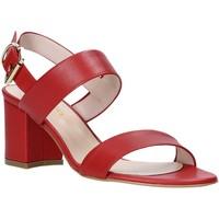 Παπούτσια Γυναίκα Σανδάλια / Πέδιλα Casanova LIVIA το κόκκινο