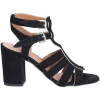 Παπούτσια Γυναίκα Σανδάλια / Πέδιλα Mally 6272 Μαύρος