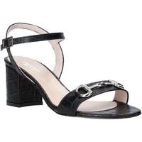 Παπούτσια Γυναίκα Σανδάλια / Πέδιλα Casanova LUNT Μαύρος