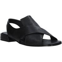 Παπούτσια Γυναίκα Σανδάλια / Πέδιλα Mally 5763R Μαύρος
