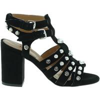 Παπούτσια Γυναίκα Γόβες Mally 6123 Μαύρος