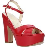 Παπούτσια Γυναίκα Σανδάλια / Πέδιλα Esther Collezioni T260 CRIS το κόκκινο