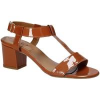 Παπούτσια Γυναίκα Σανδάλια / Πέδιλα Mally 3895K καφέ