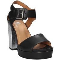 Παπούτσια Γυναίκα Σανδάλια / Πέδιλα Janet Sport 41907 Μαύρος