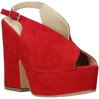 Παπούτσια Γυναίκα Σανδάλια / Πέδιλα Esther Collezioni ALBA 107 το κόκκινο